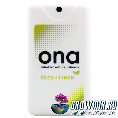 ONA Spray Card  Fresh Linen