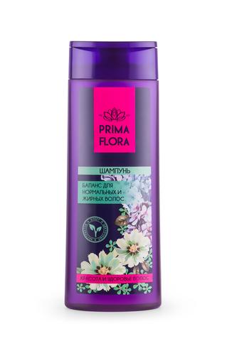 Modum Prima Flora Шампунь баланс для нормальных и жирных волос 420г