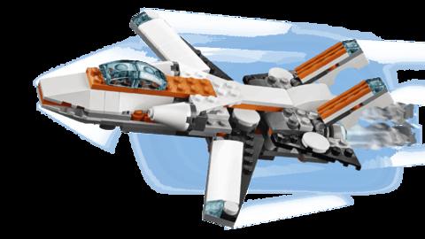 LEGO Creator: Летающий робот 31034 — Future Flyer — Лего Креатор Создатель