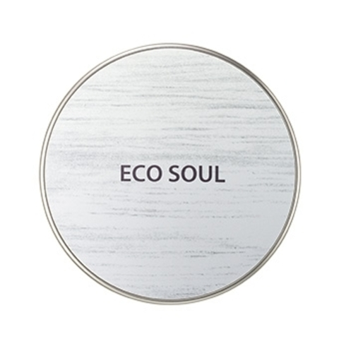 THE SAEM ECO SOUL Основа тональная маскирующая ECO SOUL Cover Stay Cushion 02Natural Bei 15гр