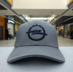 Бейсболка Опель серая (Кепка Opel)
