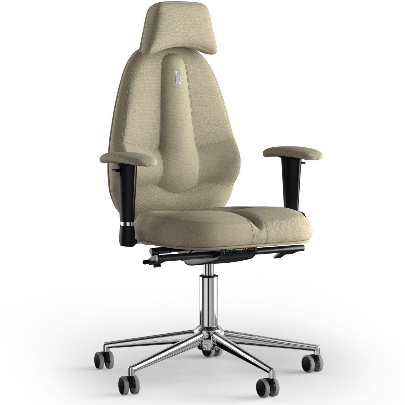Кресло KULIK SYSTEM CLASSIC Ткань с подголовником без строчки