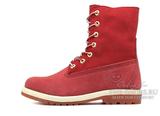 Женские Ботинки Timberland Teddy Fleece Red (МЕХ)