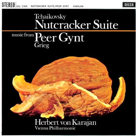 Tchaikovsky, Grieg, Herbert von Karajan, Vienna Philharmonic / Nutcracker Suite, Music From Peer Gynt (LP)
