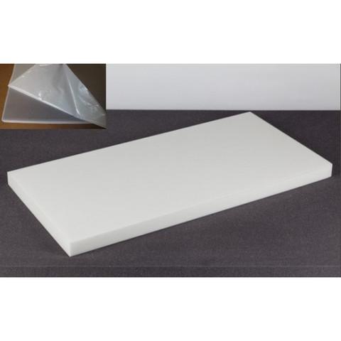 негорючая  акустическая панель ECHOTON FIREPROOF 100x50x5cm  из материала  BASOTECT белый с адгезивным слоем