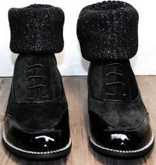 Модные ботинки ботильоны Kluchini 5161 k255 Black