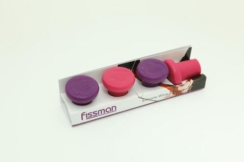 7000 FISSMAN Пробки для бутылки 4 шт,  купить