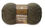 Пряжа Nako Superlambs Special арт. 23520 хаки