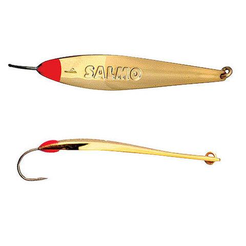 Блесна вертикальная Lucky John MODEL S-2 c впаянным крючком, 3г, цвет G, 8375-G