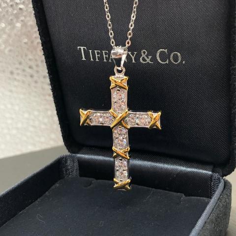 Подвеска-крест Tiffany & Co. Schlumberger Ten Stone