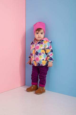 КТ180 Куртка облегченная (ветровка) для девочки