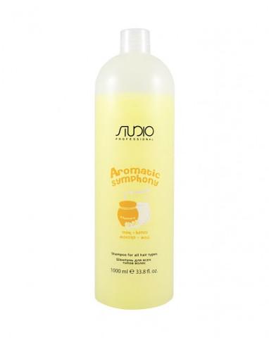 Шампунь для всех типов волос «Молоко и мед», 1000 мл