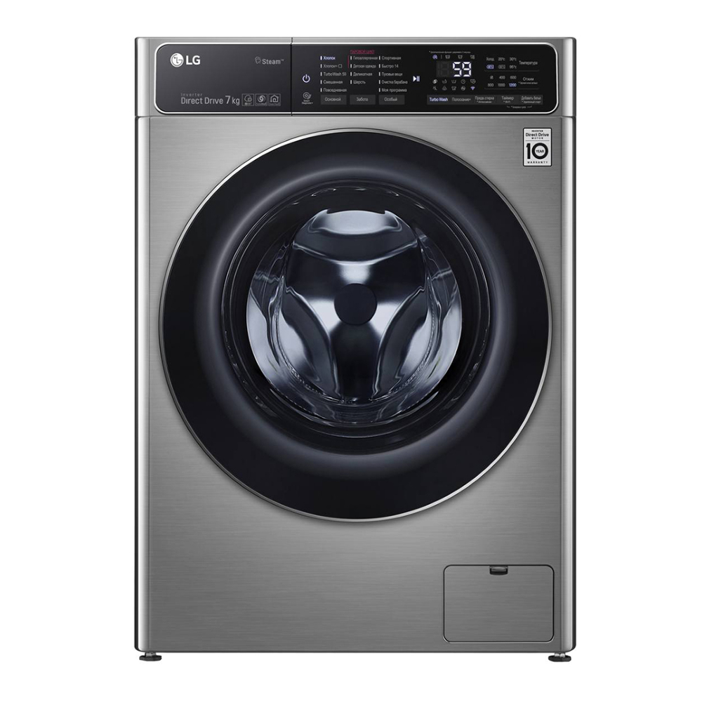 Фото - Стиральная машина LG F2T9HS9S стиральная машина lg f4v5tg0w