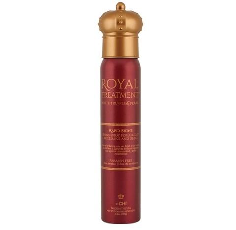 Лак-Спрей Королевский  для волос моментальный блеск CHI Royal Treatment Rapid Shine, 156 мл.