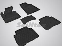 Резиновые коврики KIA SORENTO 12г., высокий борт