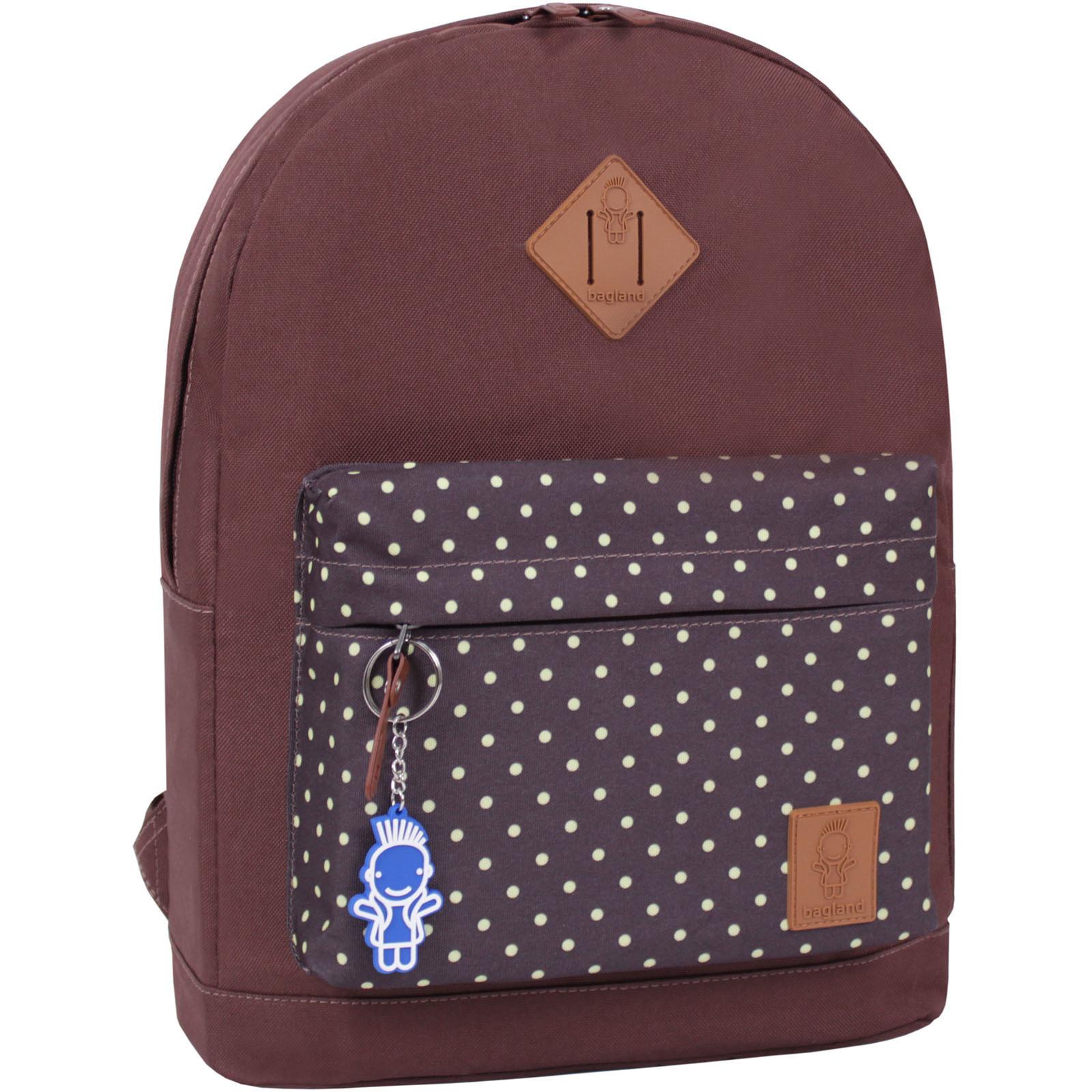 Средние рюкзаки Рюкзак Bagland Молодежный W/R 17 л. коричневый сублимация 26 (00533662) IMG_8295_суб.26_.JPG
