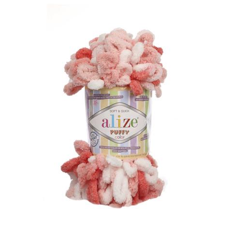 Купить Пряжа Alize Puffy Color Код цвета 5922 | Интернет-магазин пряжи «Пряха»