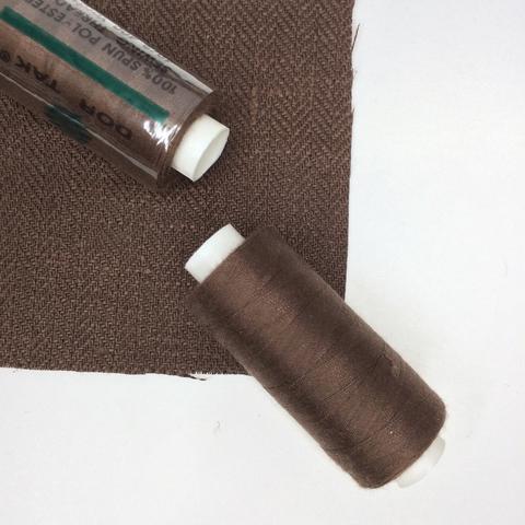 Нитки Dor Tak 346, коричневый