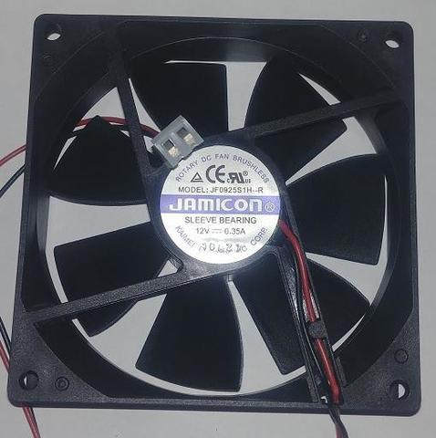 Вентилятор QUATTRO ELEMENTI 92х92х25мм (12В 0,35А) A200 (30712010)
