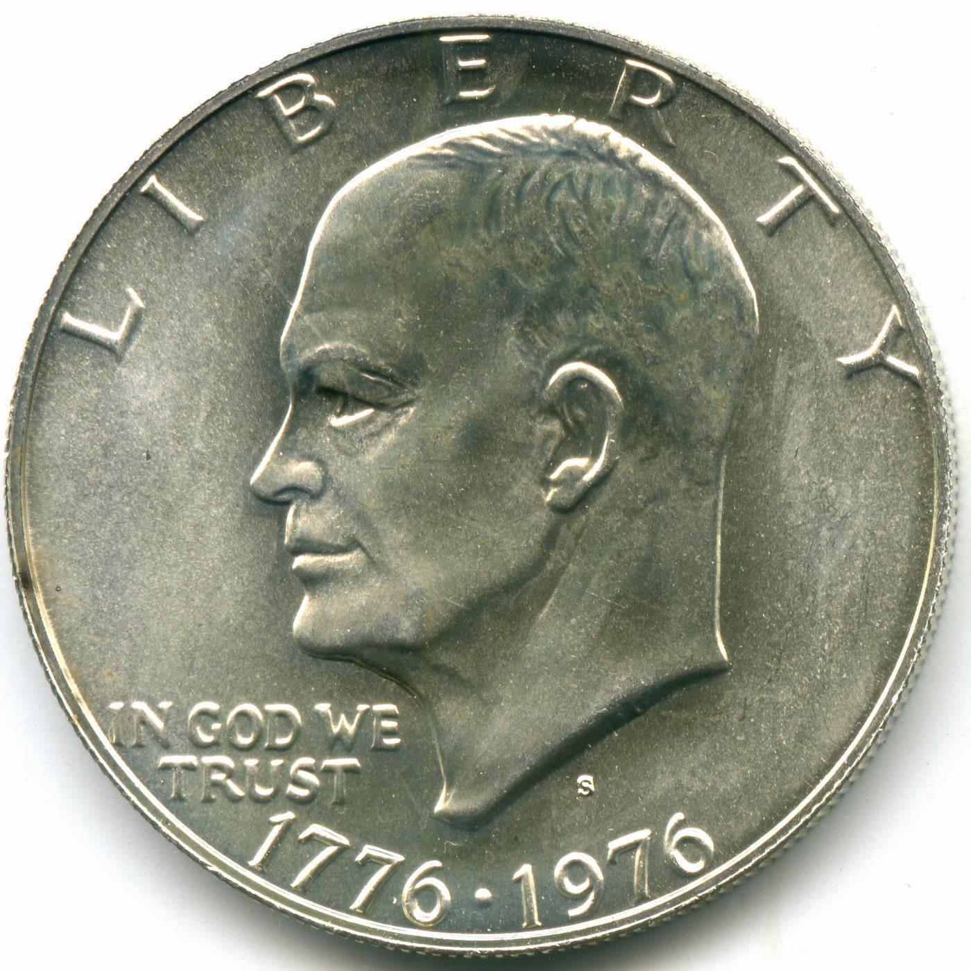 1 доллар 1976 (S). США