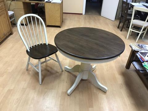 Стол Bergamo combi 90+30 см