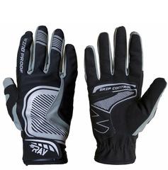 Лыжные перчатки Ray Про черный-серый
