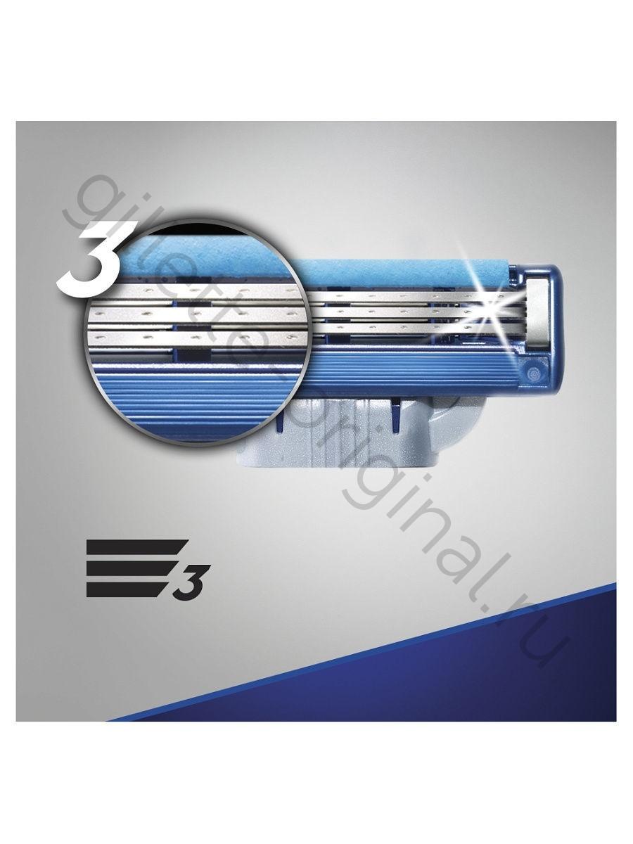 Кассеты Gillette Mach3 Turbo 12 шт