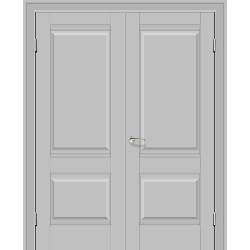 Двустворчатые двери Межкомнатная дверь экошпон Profil Doors 1U манхэттен распашная двустворчатая глухая 1u-manhetten-dvertsov-dr.jpg