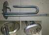 Нагревательный элемент (ТЭН) для водонагревателя Ariston (Аристон) 65150052 в сборе с фланцем без прокладки, 2 кВт 220В М5 65150892