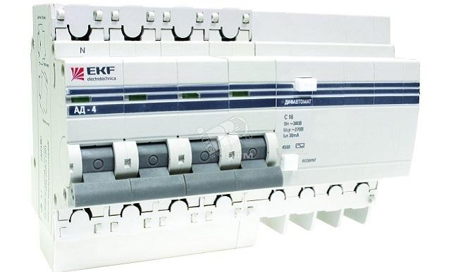 EKF дифференциальный автомат