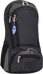 Рюкзак для ноутбука Bagland Granite 23 л. черный /серебро (00120169)