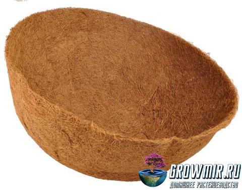 Кокосовое кашпо  Ø 50 см