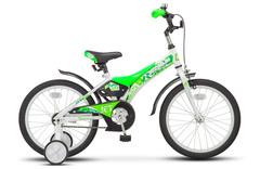 Велосипед STELS Jet 18 (2018) Белый/салатовый