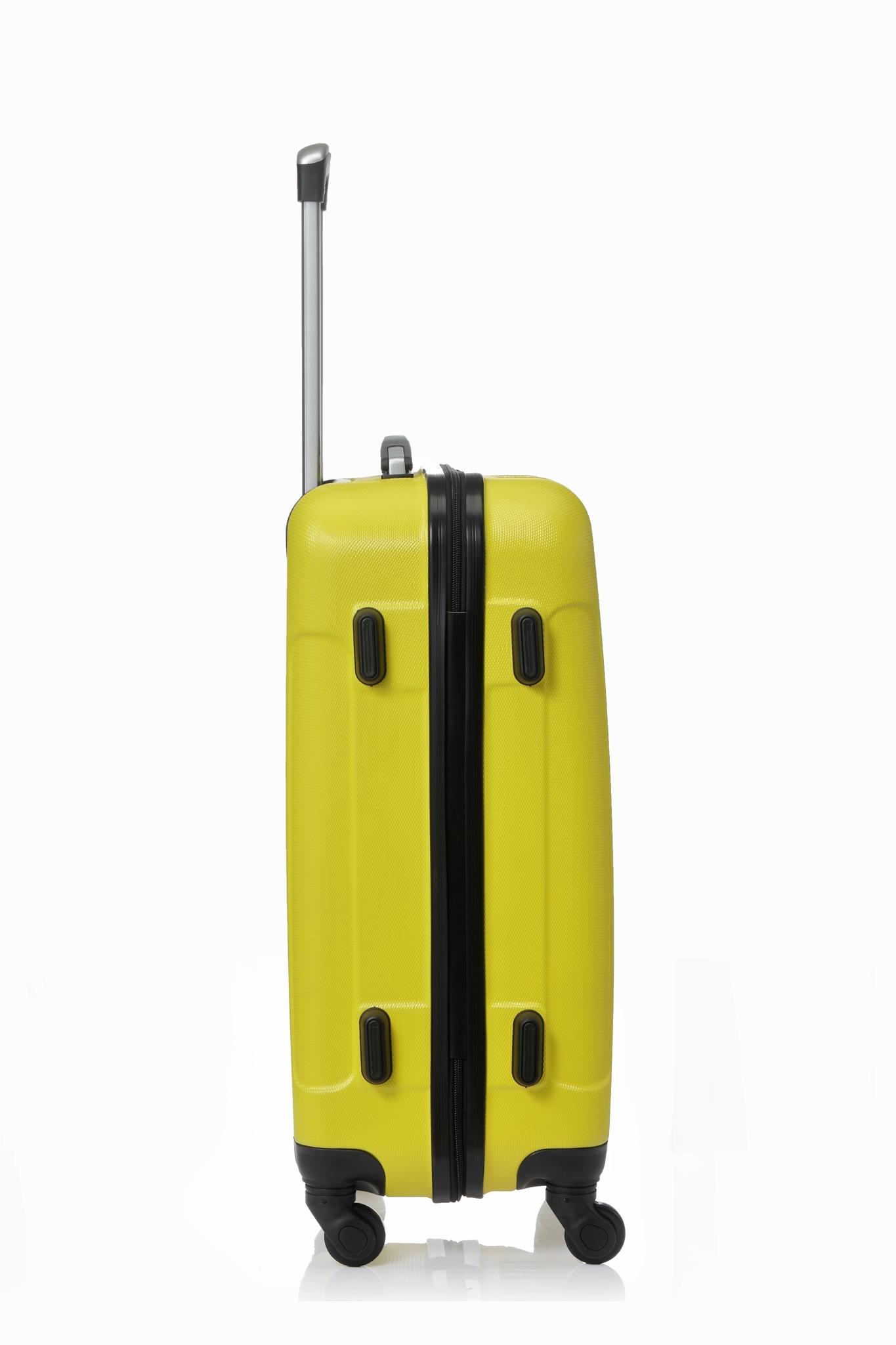 Чемодан со съемными колесами L'case Bangkok-26 Желтый (L)