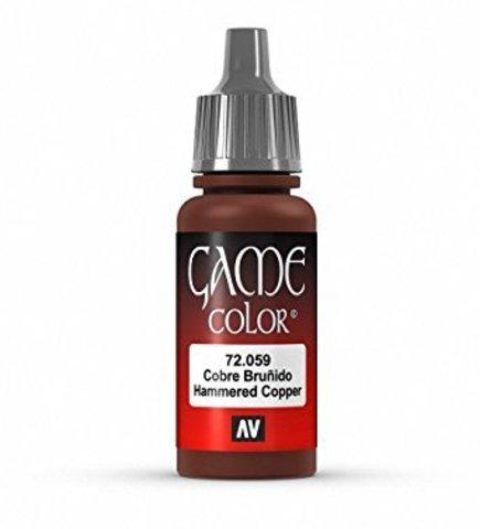 Game Color Hammered Copper 17 ml.