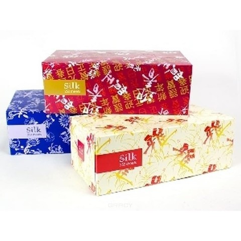 Салфетки-выдергушки двухслойные Gotaiyo Silk 250 шт