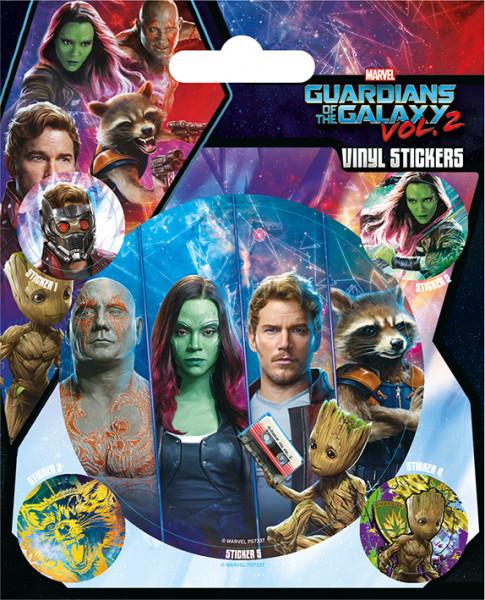 Набор стикеров Guardians of the Galaxy Vol. 2 (Team)