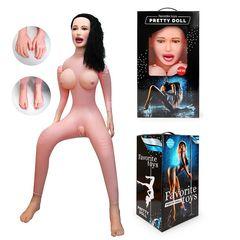 Секс-кукла с вибрацией Виктория -