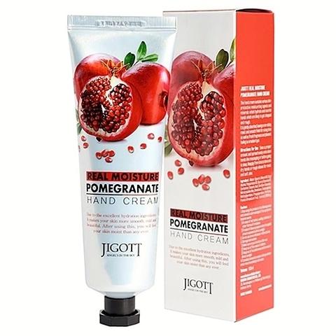 Крем для рук с экстрактом граната Jigott Real Moisture Pomegranate  100 мл