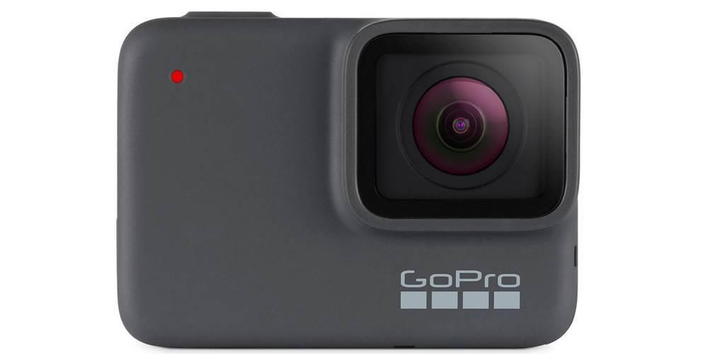 Видеокамера GoPro HERO7 Silver Edition + SD Card (CHDSB-602) спереди