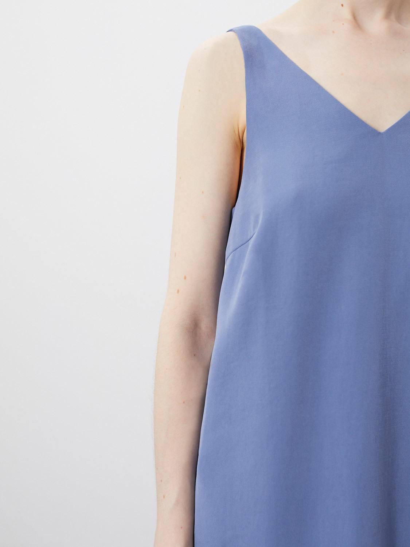 Платье Ava макси, Голубой