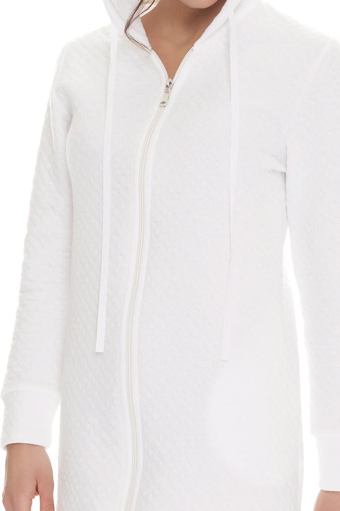 Короткий женский халат на молнии DolceVita