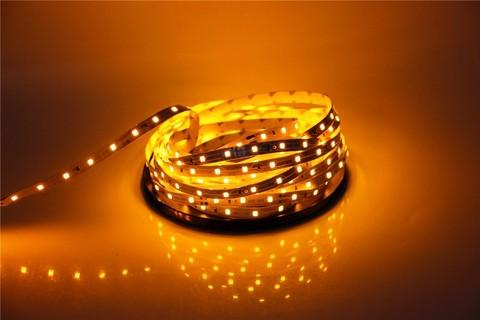 светодиодная лента желтого цвета 3528 led