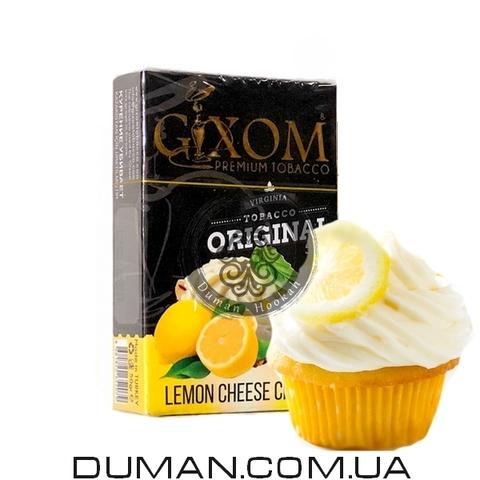Табак Gixom Lemon Cheese Cream (Гиксом Лимонный Чизкейк)