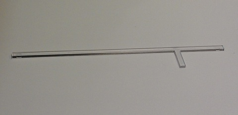 Прозрачная полоска для вентилятора SILENT-100 DESIGN