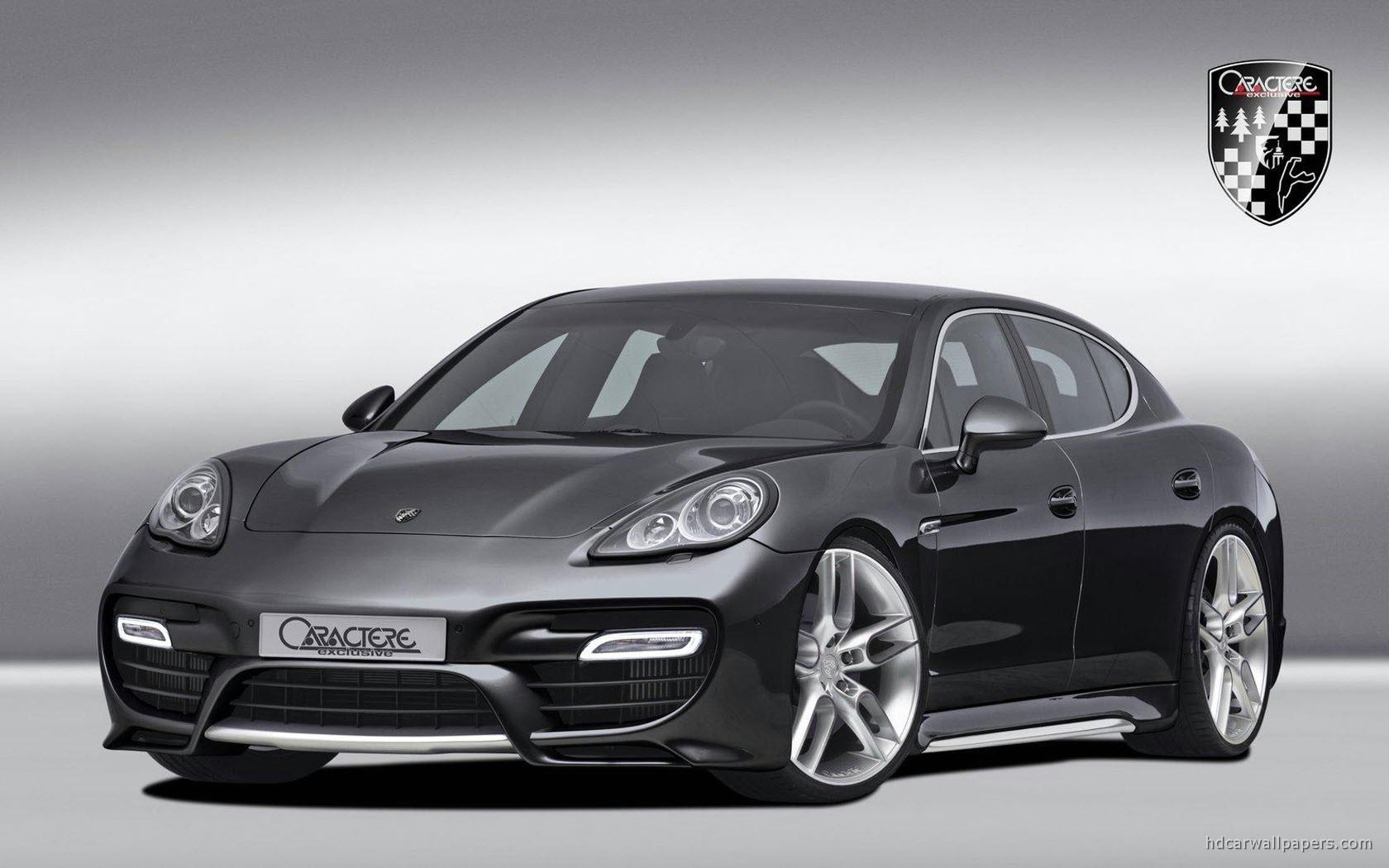 Обвес Caractere Exclusive на Porsche Panamera