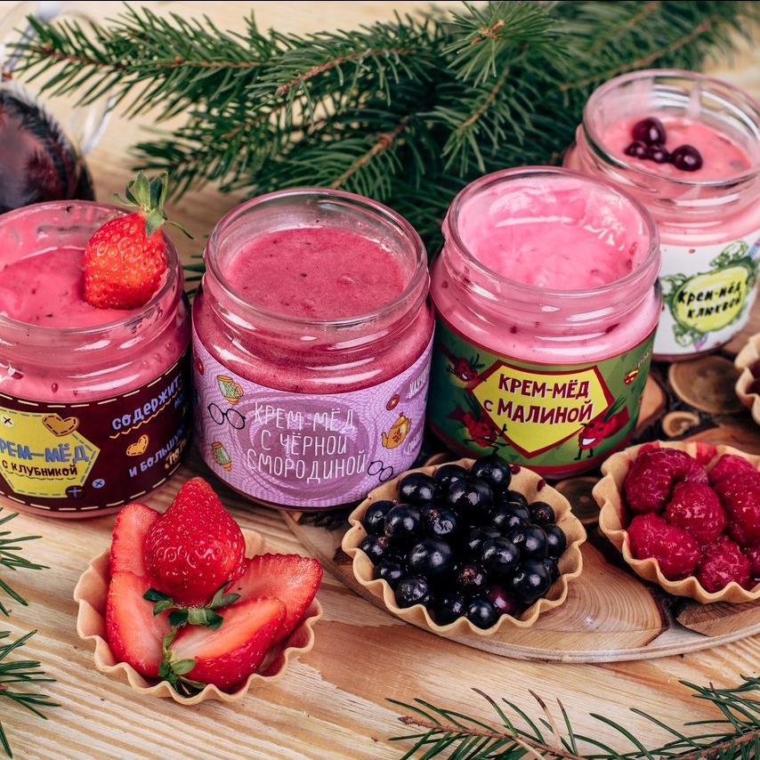 Купить крем-мёд подарочный в оригинальной упаковке Пермь