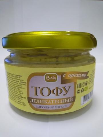 Тофу мягкий с орехами, 250г Biolly купить в Ростове