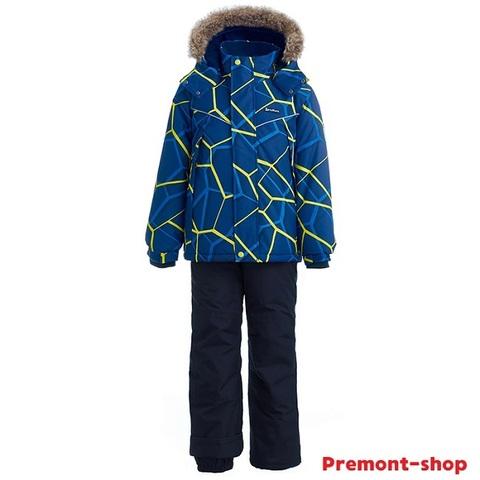 Зимний комплект Premont Питерборо WP92261 BLUE