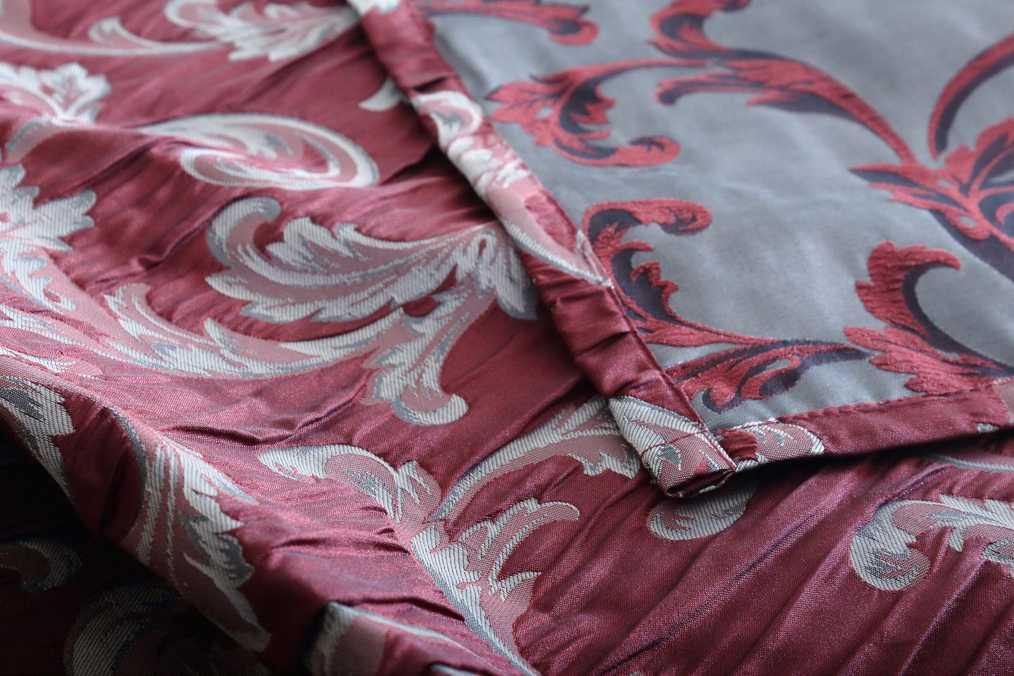 Готовая штора Isabella (бордо)